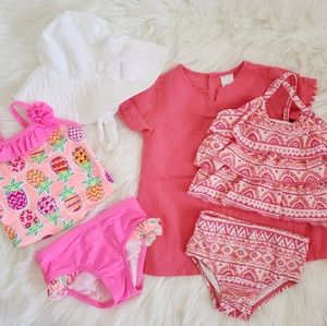 Babygirl Swimsuits Bundle + FREEBIES